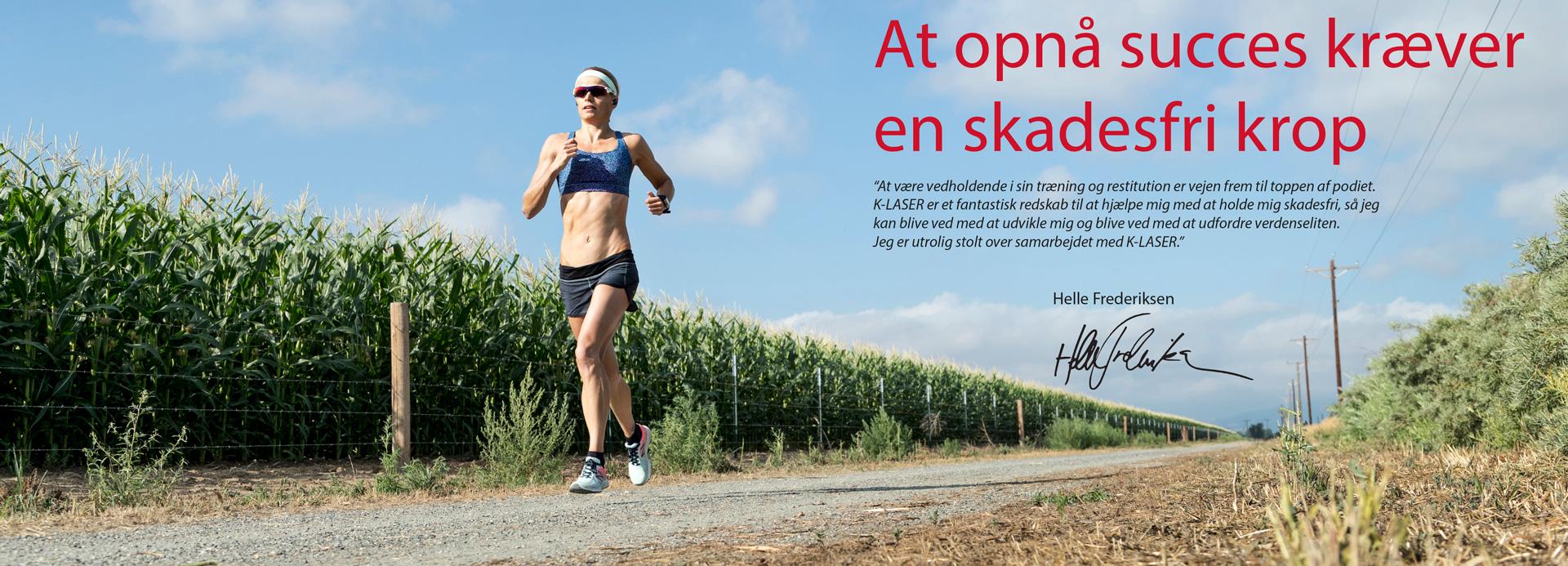 K-Laser Scandinavia sponsoreret atlet Helle Frederiksen